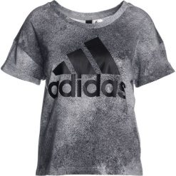 T-shirty damskie: adidas Performance ESSENTIALS Tshirt z nadrukiem solid grey/black