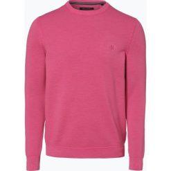 Marc O'Polo - Sweter męski, różowy. Czerwone swetry klasyczne męskie Marc O'Polo, l, z dzianiny, polo. Za 399,95 zł.