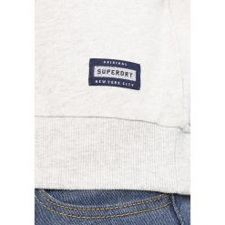 Bluzy damskie: Superdry APPLIQUE PANELLED CREW Bluza pacific/grey marl