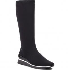 Kozaki HÖGL - GORE-TEX 6-103728 Black 0100. Czarne buty zimowe damskie marki HÖGL, z materiału. Za 649,00 zł.
