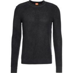 Swetry klasyczne męskie: BOSS CASUAL KALMUT Sweter black