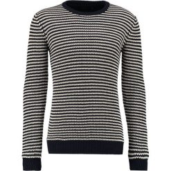 Swetry męskie: Suit CONDOR STRIPE Sweter navy/off white