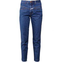 CLOSED PEDAL PUSHER Jeansy Straight Leg dark saltn pepper. Niebieskie jeansy damskie CLOSED. Za 579,00 zł.