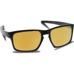 Okulary przeciwsłoneczne OAKLEY - Sliver OO9262-05 Polished Black/24k Iridium. Czarne okulary przeciwsłoneczne męskie aviatory Oakley, z tworzywa sztucznego. W wyprzedaży za 449,00 zł.