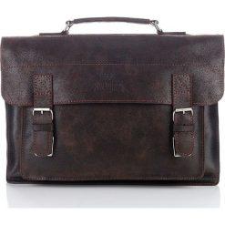 RANGER Skórzana torba Paolo Peruzzi Brązowa. Brązowe torby na ramię męskie marki Kazar, ze skóry, przez ramię, małe. Za 349,00 zł.