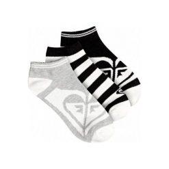 Roxy Skarpetki Ankle Socks J Sock Anthracite. Szare skarpetki damskie marki Roxy, z bawełny. Za 79,00 zł.