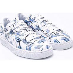 Puma - Buty Basket Shantell Martin. Szare buty sportowe damskie marki Puma, z gumy. W wyprzedaży za 299,90 zł.