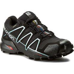 Buty SALOMON - Speedcross 4 Gtx W GORE-TEX 383187 20 G0 Black/Black. Czarne buty sportowe damskie Salomon, z gore-texu, do biegania, salomon speedcross. W wyprzedaży za 469,00 zł.