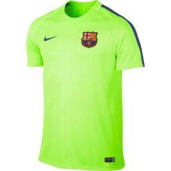 Nike Koszulka męska FCB M NK Dry SQD Top SS zielona r. S (808924 369). Zielone koszulki sportowe męskie Nike, m. Za 139,77 zł.