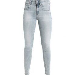GStar LYNN MID SKINNY NEW Jeans Skinny Fit elto. Szare rurki damskie marki G-Star. W wyprzedaży za 365,40 zł.