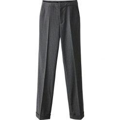 Spodnie z wysokim stanem: Spodnie cygaretki w paski