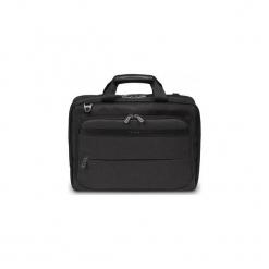 """Targus Citysmart 14-15.""""6 Slimline Topload Laptop Case Czarna/szara. Czarne torby na laptopa marki Targus, w paski, z materiału. Za 217,00 zł."""
