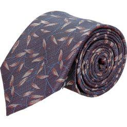 Krawat platinum fiolet classic 213. Szare krawaty męskie Recman. Za 49,00 zł.