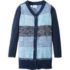 Długi sweter rozpinany bonprix niebieski melanż. Czarne swetry dziewczęce marki Reserved, l, z kapturem. Za 54,99 zł.