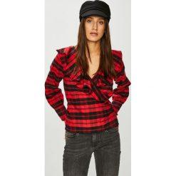 Trendyol - Bluzka. Szare bluzki z odkrytymi ramionami Trendyol, z bawełny, casualowe. Za 79,90 zł.