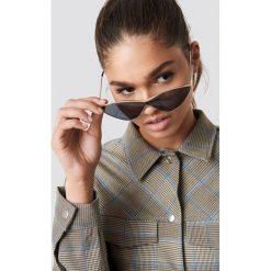 NA-KD Accessories Metalowe okulary przeciwsłoneczne Cateye - Black. Szare okulary przeciwsłoneczne damskie lenonki marki ORAO. Za 80,95 zł.