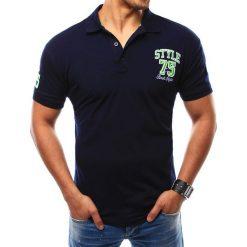 Koszulki polo: Koszulka polo męska granatowa (px0115)