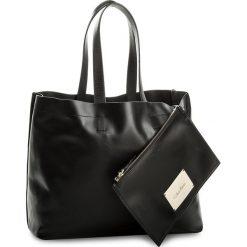 Shopper bag damskie: Torebka CALVIN KLEIN BLACK LABEL – Effortless Shopper K60K604077 001
