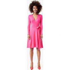 Długie sukienki: Sukienka w kolorze fuksji