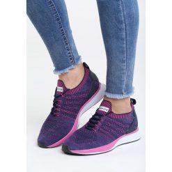 Fioletowo-Różowe Buty Sportowe Lush Life. Czerwone buty sportowe damskie marki Born2be, z tworzywa sztucznego. Za 99,99 zł.