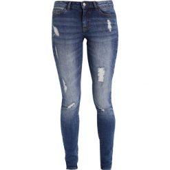 Boyfriendy damskie: JDY JDYSKINNY FLORA Jeansy Slim Fit medium blue