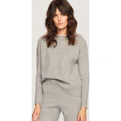 Sweter ze stójką - Jasny szar. Niebieskie swetry klasyczne damskie marki ARTENGO, z elastanu, ze stójką. Za 99,99 zł.