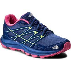 Buty THE NORTH FACE - LiteWave Endurance T92VVJ3TR Sodalite Blue/Glo Pink. Niebieskie buty do biegania damskie marki The North Face, z gumy. W wyprzedaży za 289,00 zł.