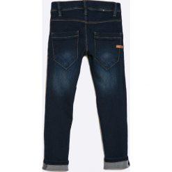 Name it - Jeansy dziecięce 122-164 cm. Niebieskie jeansy dziewczęce Name it, z haftami, z bawełny. W wyprzedaży za 59,90 zł.