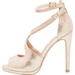 Sandały damskie: New Look SABLE Sandały na obcasie gold