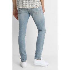 AllSaints ICHNAW CIGARETTE Jeans Skinny Fit indigo. Niebieskie rurki męskie AllSaints, z bawełny. Za 569,00 zł.