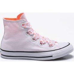 Converse - Trampki. Szare trampki i tenisówki damskie marki Converse, z gumy. W wyprzedaży za 219,90 zł.