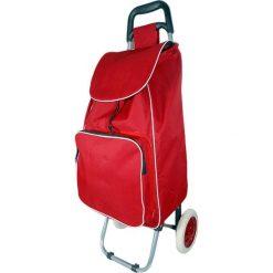 Torba w kolorze czerwonym na kółkach - 35 l. Czerwone torebki klasyczne damskie Jocca, z materiału. W wyprzedaży za 69,95 zł.