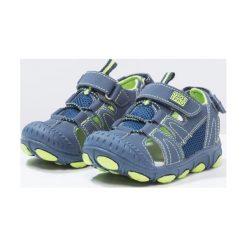 Gioseppo GAVIETA Sandały trekkingowe marino/verde. Niebieskie sandały chłopięce Gioseppo, z materiału, z otwartym noskiem. W wyprzedaży za 132,30 zł.