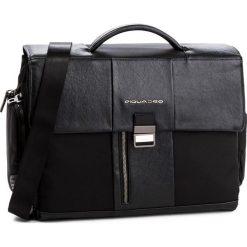 Torba na laptopa PIQUADRO - CA1045BR/N Czarny. Czarne torby na laptopa marki Piquadro, z materiału. W wyprzedaży za 919,00 zł.