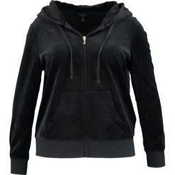 Bluzy damskie: Juicy Couture Plus ROBERTSON Bluza rozpinana black