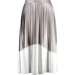 Spódniczki plisowane damskie: Topshop Spódnica plisowana silver