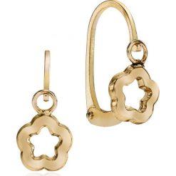 Kolczyki damskie: RABAT Kolczyki Złote – złoto żółte 375