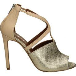 Sandały damskie: Sandały - 0240 PLA-NUD