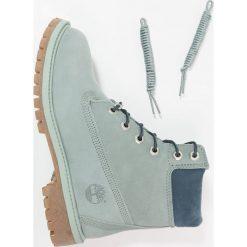 Timberland 6 IN PREMIUM WP Botki sznurowane chinois green. Zielone buty zimowe damskie marki Timberland, z gumy, na sznurówki. W wyprzedaży za 503,20 zł.