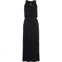 Długa sukienka shirtowa bonprix czarny. Czarne długie sukienki marki bonprix, z długim rękawem. Za 59,99 zł.