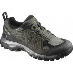 Salomon Buty Trekkingowe Evasion 2 Gtx Beetle/Rosin/Castor Gray 44.7. Szare buty trekkingowe męskie marki Salomon, z gore-texu, na sznurówki, outdoorowe, gore-tex. W wyprzedaży za 399,00 zł.