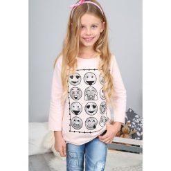 T-shirty dziewczęce: Bladoróżowa Bluzka NDZ7573