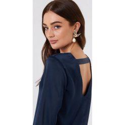 Rut&Circle Sukienka Essie - Blue,Navy. Zielone sukienki mini marki Rut&Circle, z dzianiny, z okrągłym kołnierzem. W wyprzedaży za 48,59 zł.