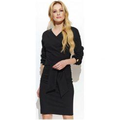 Makadamia Sukienka Damska 36 Czarna. Czarne sukienki z falbanami marki Fille Du Couturier. Za 255,00 zł.