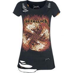 Bluzki asymetryczne: Metallica EMP Signature Collection Koszulka damska czarny