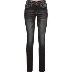 """Dżinsy """"multi-stretch"""" SKINNY bonprix czarny. Niebieskie jeansy damskie skinny marki House, z jeansu. Za 109,99 zł."""