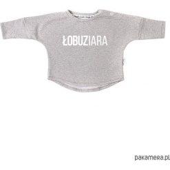 Bluzy niemowlęce: Bluza Łobuziara - szary