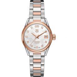 ZEGAREK TAG HEUER Carrera Lady WAR2452.BD0772. Czarne zegarki damskie marki KALENJI, ze stali. Za 17690,00 zł.