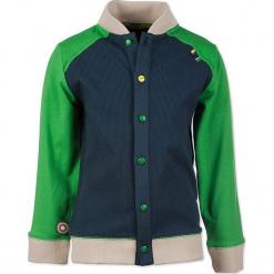 """Bluza """"Working Man"""" w kolorze granatowo-zielonym. Niebieskie bluzy chłopięce marki 4FunkyFlavours Kids. W wyprzedaży za 102,95 zł."""
