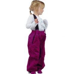 Spodnie niemowlęce: Spodnie funkcyjne w kolorze jagodowym